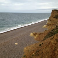 Photo taken at Weybourne Beach by Al K. on 10/21/2012