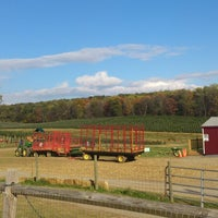 Photo taken at Gaver Farm by Dan C. on 10/24/2013