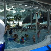 Photo taken at Sydney Olympic Park Aquatic Centre by Zehra P. on 10/1/2015