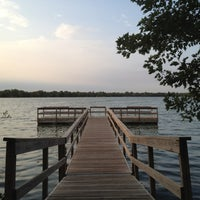 Photo taken at Lake Nokomis Fishing Dock by SemiToxic on 9/19/2012