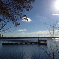 Photo taken at Lake Nokomis Fishing Dock by SemiToxic on 11/18/2013