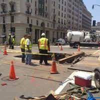 Photo taken at 14th Street Sinkhole by Alex D. on 5/22/2013