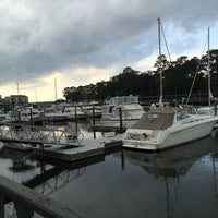 Photo taken at Shelter Cove Marina by Denise S. on 2/12/2016
