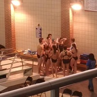 Photo taken at Carmel Aquatic Center at Carmel High School by David v. on 12/2/2014