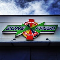 Photo taken at Zone Fresh Gourmet Markets by Rental Express Property Management on 9/17/2012
