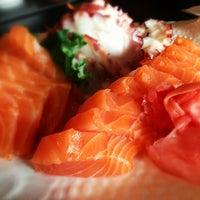 Photo taken at Nagoya Sushi by Haroldo F. on 12/21/2012