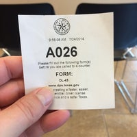 Photo taken at Texas Department of Public Safety by Mark D. on 7/24/2014