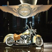 Photo taken at Harley-Davidson Museum by Jim C. on 8/10/2013