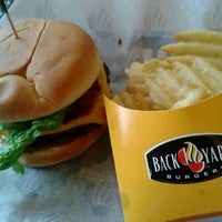 Photo taken at Back Yard Burgers by Tracey D. on 1/28/2013