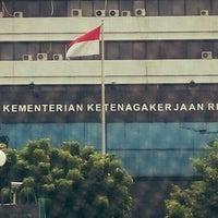 Photo taken at Kementerian Tenaga Kerja dan Transmigrasi RI by Andrian Bayu K. on 5/3/2016