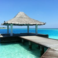 Photo taken at Sheraton Maldives Full Moon Resort & Spa by Javan N. on 4/10/2013