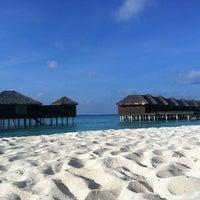 Photo taken at Sheraton Maldives Full Moon Resort & Spa by Javan N. on 4/16/2013