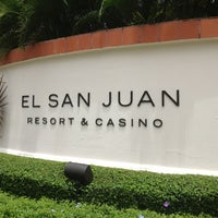 Photo taken at El San Juan Hotel & Casino by ArtJonak on 8/21/2013