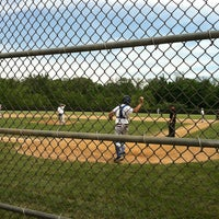 Photo taken at Tealtown Baseball Fields by Cindy H. on 5/26/2013