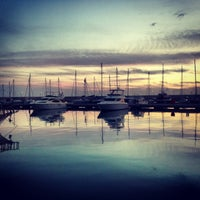 Photo taken at Mersin Marina by Fatih A. on 1/29/2013