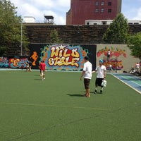 Photo taken at Graffiti Hall Of Fame by Teddy N. on 7/13/2013