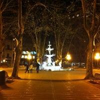 Photo taken at Plaza Matriz by Franco U. on 7/3/2013