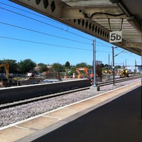 Photo taken at Peterborough Railway Station (PBO) by Michael T. on 7/9/2013