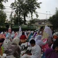 Photo taken at Masjid Al Furqan (Pusat Dewan Dakwah Indonesia) by dian n. on 8/7/2013