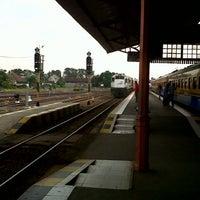 Photo taken at Stasiun Mojokerto by zantos s. on 7/27/2013
