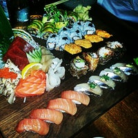 Photo taken at Blue Ribbon Sushi by Kenny T. on 1/16/2013
