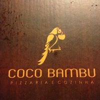 Photo taken at Coco Bambu Pizzaria & Cozinha by Marcelo U. on 3/26/2013