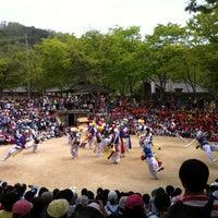 Photo taken at Korean Folk Village by Jon S. on 5/9/2013