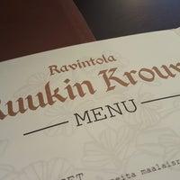 Photo taken at Ravintola Ruukin Krouvi by Tero H. on 8/8/2016
