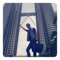 Photo taken at KLCC  Twin Tower by Isarunda on 8/25/2013