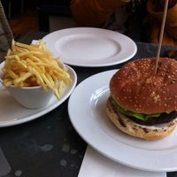 Photo taken at Gourmet Burger Kitchen by kyo. on 1/18/2013