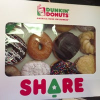 Photo taken at Dunkin' Donuts by Anthony A. on 12/7/2012