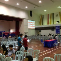 Photo taken at INTI-IU Multi Purpose Hall (MPH) by Thomas L. on 5/23/2013