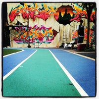 Photo taken at Graffiti Hall Of Fame by Hassan P. on 7/13/2013