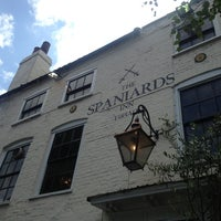 Photo taken at The Spaniards Inn by Wendy B. on 6/25/2013