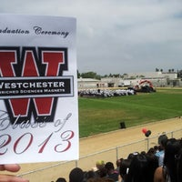 Photo taken at Westchester High School by Ron T. on 6/8/2013