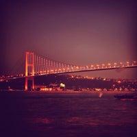 Photo taken at Bosphorus Bridge by Muzaffer G. on 7/23/2013