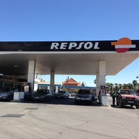 Photo taken at Gasolinera Repsol by David S. on 5/3/2013