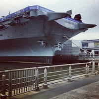 Photo taken at Intrepid Sea, Air & Space Museum by Nigel V. on 4/28/2013