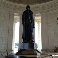 Photo taken at Thomas Jefferson Memorial by Margarita M. on 7/20/2013