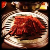 Photo taken at Red Pig Korean Restaurant (빨간돼지 한국식당) by Victor T. on 11/26/2013