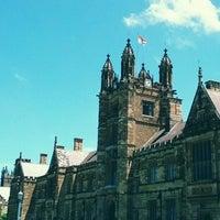 Photo taken at The University of Sydney (USYD) by Kristian K. on 1/15/2013