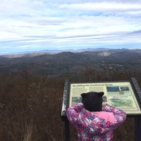 Photo taken at Whiteside Mountain by Jeff R. on 11/25/2013