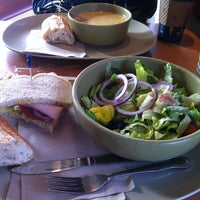 Photo taken at Panera Bread by Kim on 11/12/2012