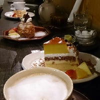 Photo taken at cafe ハナあかり by M T. on 12/27/2013