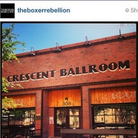 Photo taken at Crescent Ballroom by Angela G. on 6/11/2013