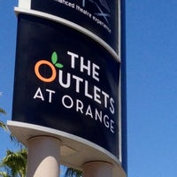 Photo taken at The Outlets at Orange by Ray L. on 4/9/2013