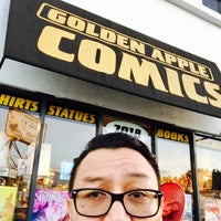 Photo taken at Golden Apple Comics by Ray L. on 10/16/2016