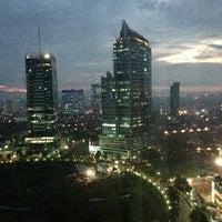 Photo taken at JW Marriott Hotel Jakarta by Sandeep on 1/25/2013
