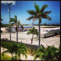 Photo taken at Owen Roberts International Airport (GCM) by Sam G. on 5/23/2013