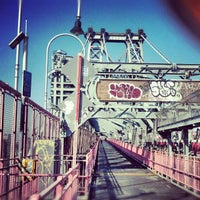 Photo taken at Williamsburg Bridge by Justin T. on 10/20/2012